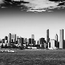 Chicago skyline by Yannick Verkindere