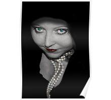 Cloak & Pearls Poster