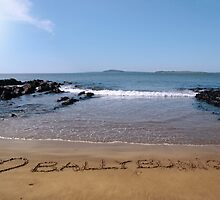 love ballybunion in the sand by morrbyte
