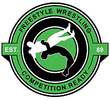 Freestyle Wrestling Competition Ready Suplex Green  by yin888