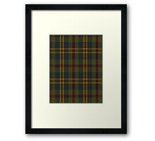 00333 Limerick County (District) Tartan Framed Print