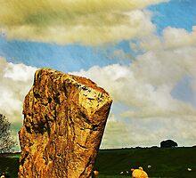 Avebury henge, Wiltshire, UK by buttonpresser