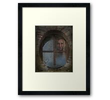 Don't Give Up On Love Framed Print