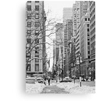 Seventh and Forty-Second Canvas Print