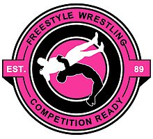 Freestyle Wrestling Competition Ready Suplex Pink  by yin888