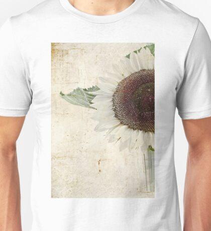 Sunny Albino Sunflower Unisex T-Shirt