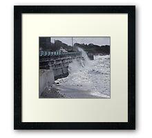 Seawall (2) Framed Print