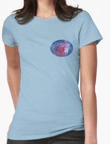 TARDIS in space 02 Womens Fitted T-Shirt