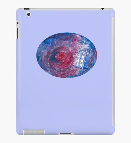 TARDIS in space 02 iPad Case/Skin