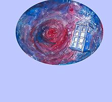 TARDIS in space 02 by Susanna Olmi
