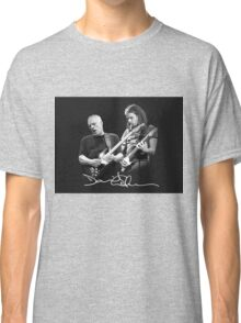 David Gilmour young and old Classic T-Shirt