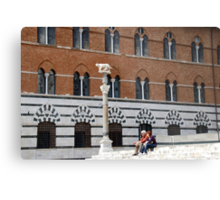 Palazzo Arcievescovile-Siena, Italy Metal Print