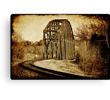 Loudon Rail Bridge Canvas Print
