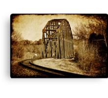 Loudon Rail Bridge Canvas Print