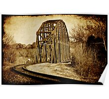 Loudon Rail Bridge Poster
