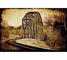 Loudon Rail Bridge Photographic Print