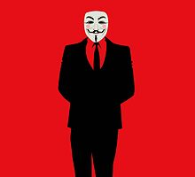 V FOR VENDETTA IN SMOKING by Mominsminions