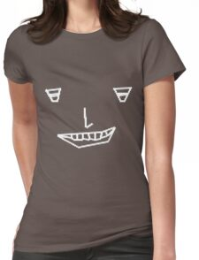 Pixellise my smile - black edition Womens Fitted T-Shirt