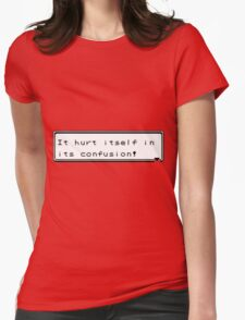 Pokemon Confusion Womens Fitted T-Shirt