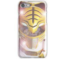 White Kiba Ranger Boom Comic Image  iPhone Case/Skin