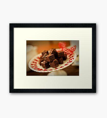 Fudge Framed Print