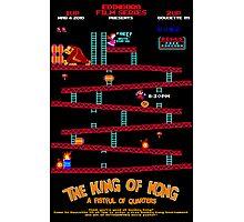 King Of Kong Poster Photographic Print