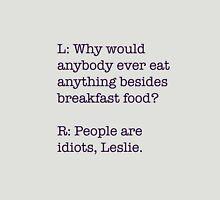 Breakfast Foods Philosophy 2 Unisex T-Shirt