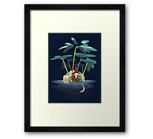 An Old Man and the Sea Framed Print