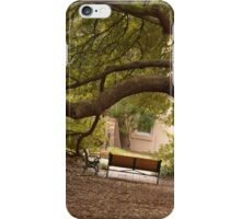 Bench Under The Tree of USC iPhone Case/Skin