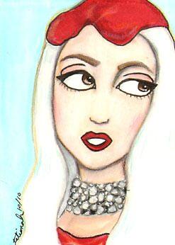 Gaga meat dress  by Thochrein