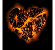 Ember Heart Photographic Print