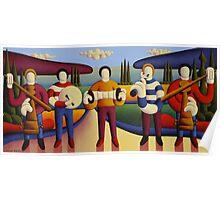 Five soft musicians Poster