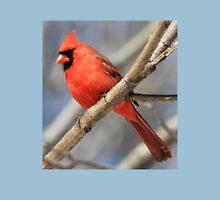 Male Cardinal in Spring Unisex T-Shirt