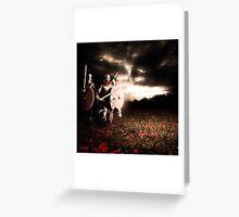 Red Beard Greeting Card