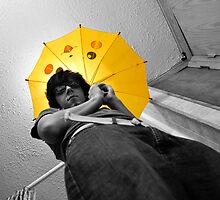 Yellow Umbrella by TrishaSwindell
