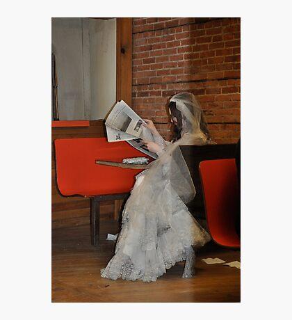 Bored Bride Photographic Print