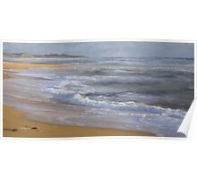 Evening Tide, Powlett Inlet Beach. Poster