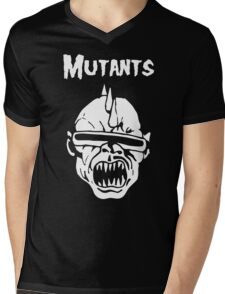 Mutants Fiend Club Mens V-Neck T-Shirt