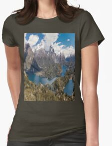 Panaroma San Carlos de Bariloche - Patagonia Womens Fitted T-Shirt