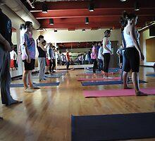 Yoga #1 by TrishaSwindell