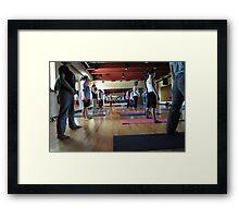 Yoga #1 Framed Print