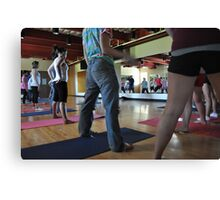 Yoga #2 Canvas Print