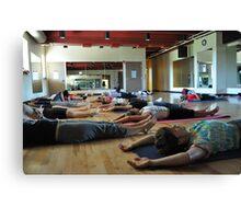 Yoga #5 Canvas Print
