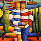 The red island Lovers by Alan Kenny