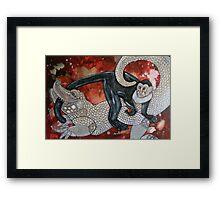 The Monkey's Tale Framed Print