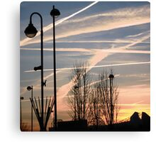 Coloured Sky Canvas Print