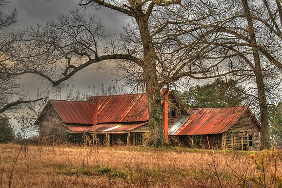 An Empty Home Revisited in Homer, Georgia by Chelei