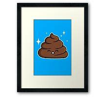 Cutie Poop Framed Print