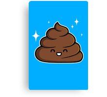 Cutie Poop Canvas Print