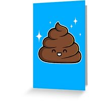 Cutie Poop Greeting Card